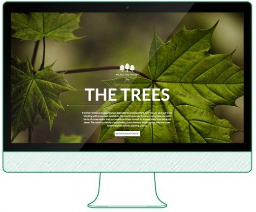 Feronia Forests website